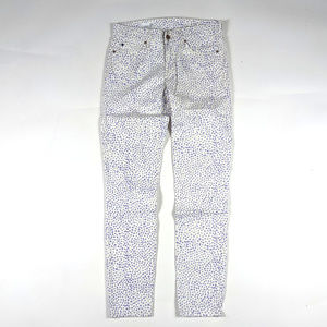 Gap 1969 Legging Jean Size 25R White Animal Print